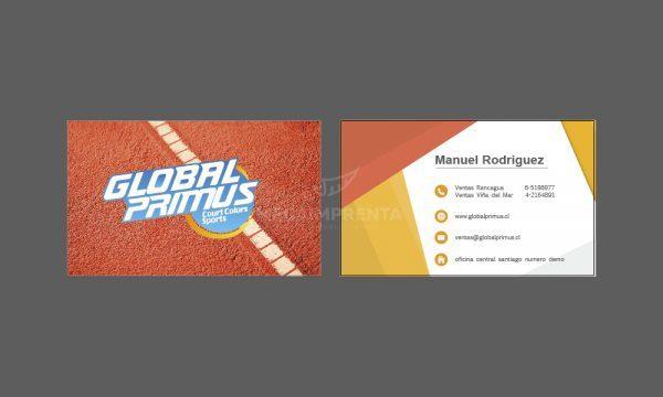 tarjetas global