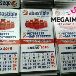 calendarios magneticos abastible