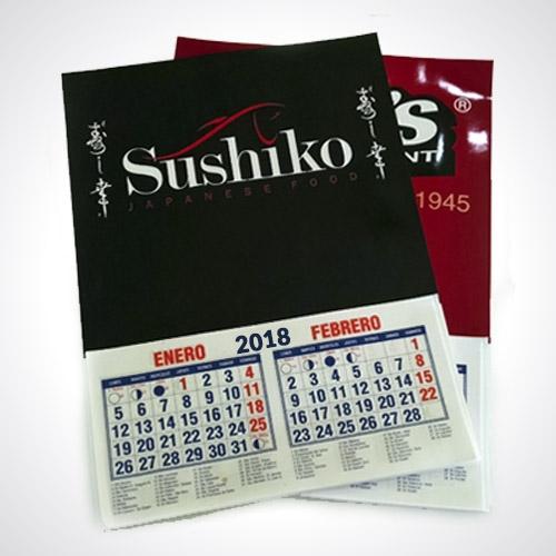 calendario pequeño de pared