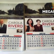 Calendario de pared carola rivero