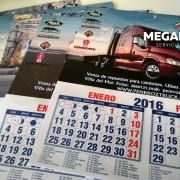 calendarios de pared mediano camiones