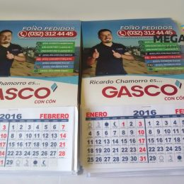 calendarios gasco 2016