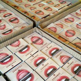 cajas de fosforos publicitarias personalizadas