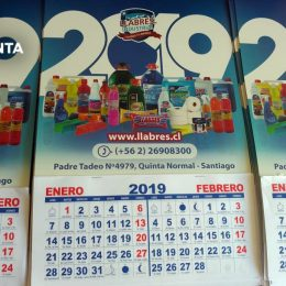 calendario mensual grande llabres
