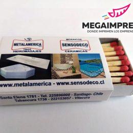 cajas de fosforos metalamerica 1