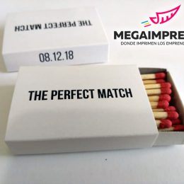 cajas de fosforos the perfect match
