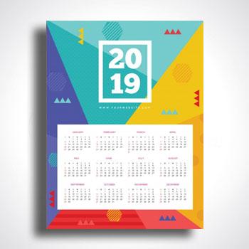 Impresión de Calendarios poster