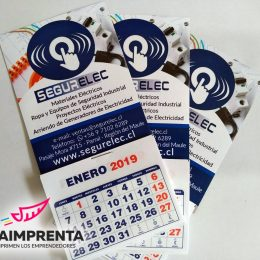 calendarios magneticos segurelec