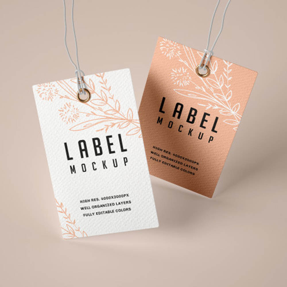 Etiquetas en Papel Kraft